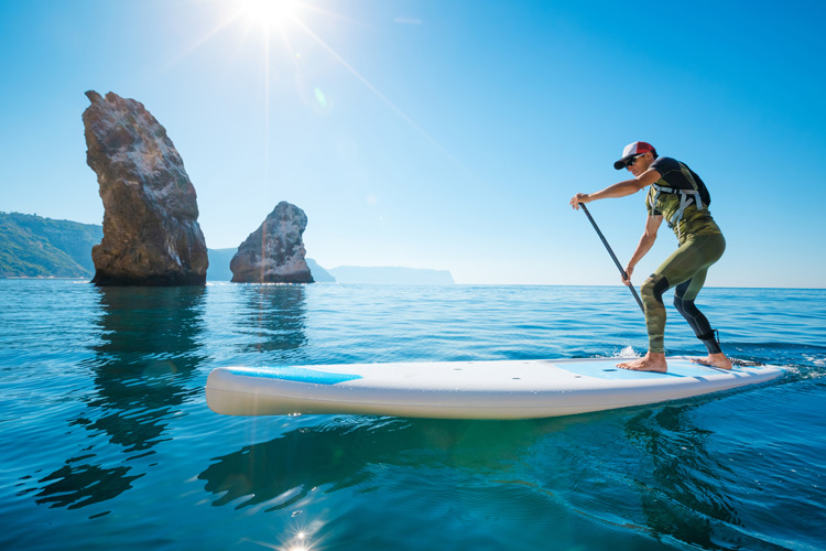 best conditions for stand up paddle boarding