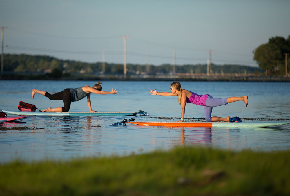 pilates paddle board