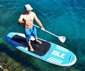 how to paddle board in the ocean