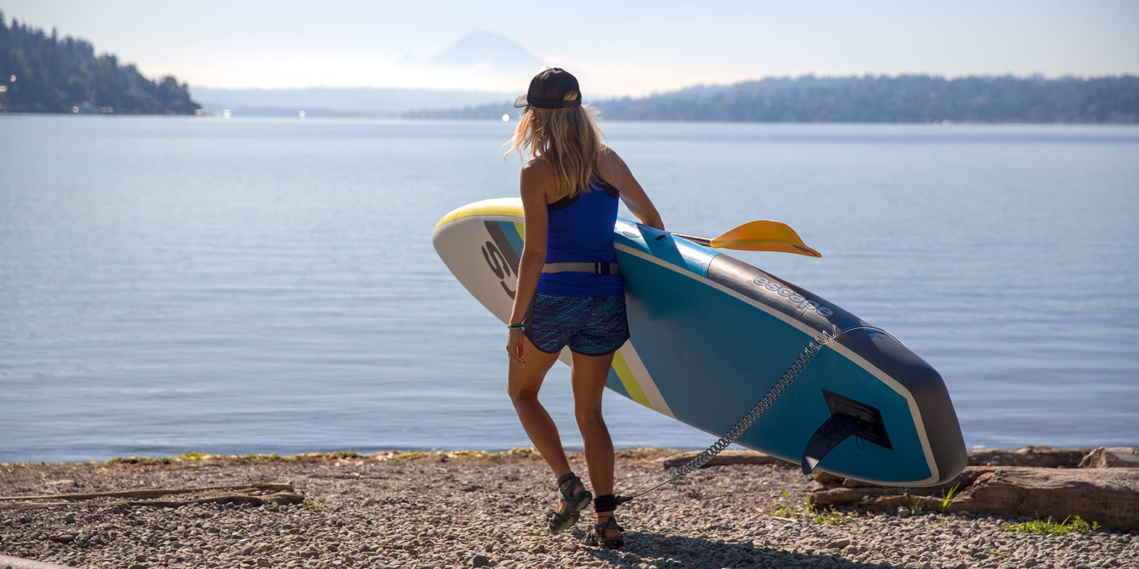 how to launch paddle board